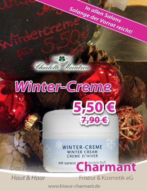 Angebot Wintercreme Friseur Kosmetik Eg Charmant