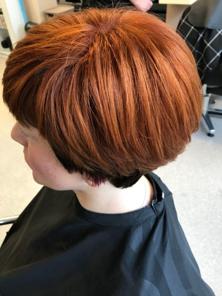 how to style short hair for women kupferroter gestufter bob friseur amp kosmetik eg quot charmant quot 1521 | 2018 03 23 18.17.25 773x1030